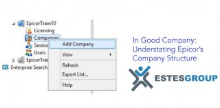 In Good Company: Understating Epicor's Company Structure