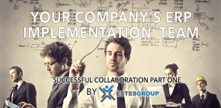 SUCCESSFUL ERP COLLABORATION – YOUR COMPANY'S ERP IMPLEMENTATION TEAM