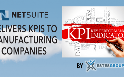 NETSUITE DELIVERS KPIs TO MANUFACTURING COMPANIES