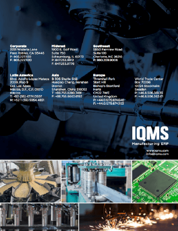 IQMS Brochure Cover Estes Group ERP Consultants SM