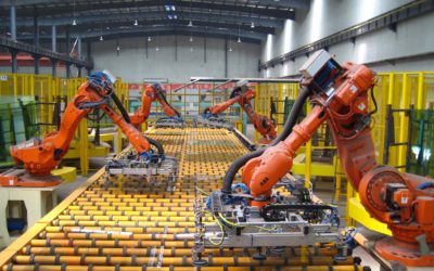 The Material Handling Industry Continues to Trend Upward, Outward, Inward