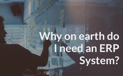 Why on Earth Do I Need an ERP System?
