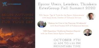 Epicor ERP Event: EstesGroup Fall Summit 2020 (Video)