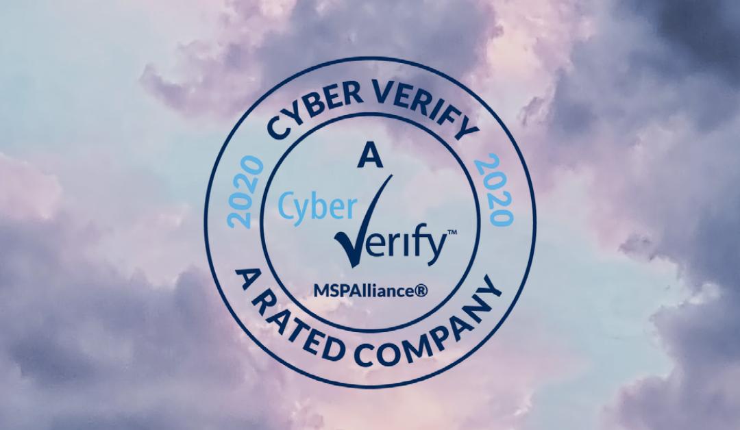 "Cyber Verify ""A"" Risk Assurance Rating"
