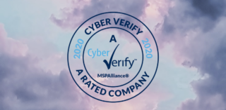 "Cyber Verify ""A"" Risk Assurance Rating"