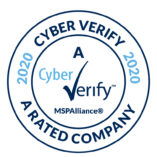 MSPAlliance Cyber Verify A Rating Badge Awarded to EstesGroup