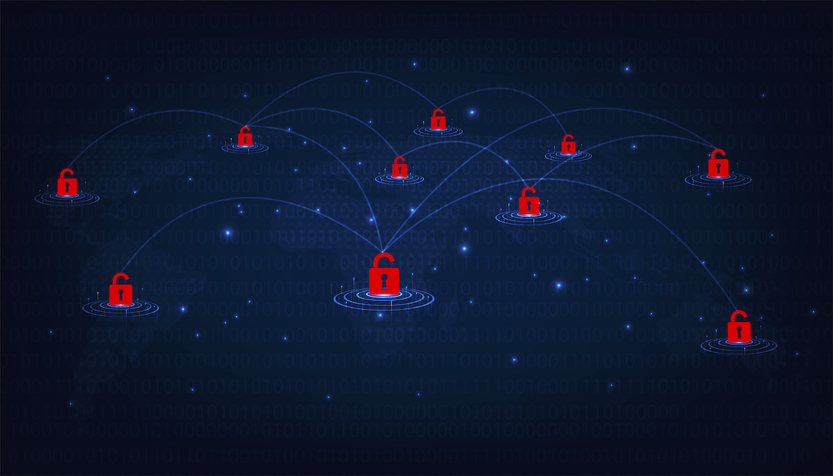 Hosted or SaaS ERP Infrastructure with Cybersecurity Locks