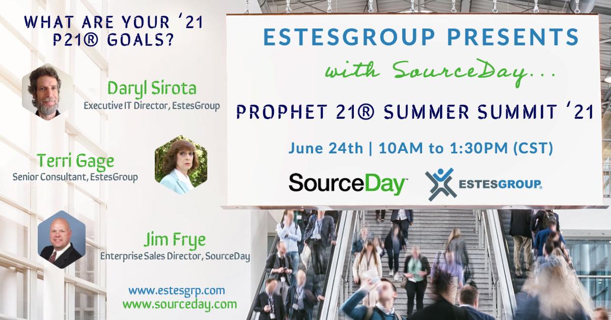 Prophet 21 Epicor Event