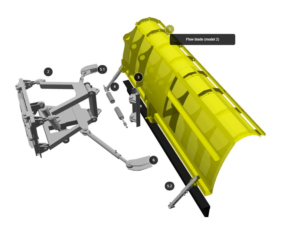 ParttrapONE Spareparts 3DCAD